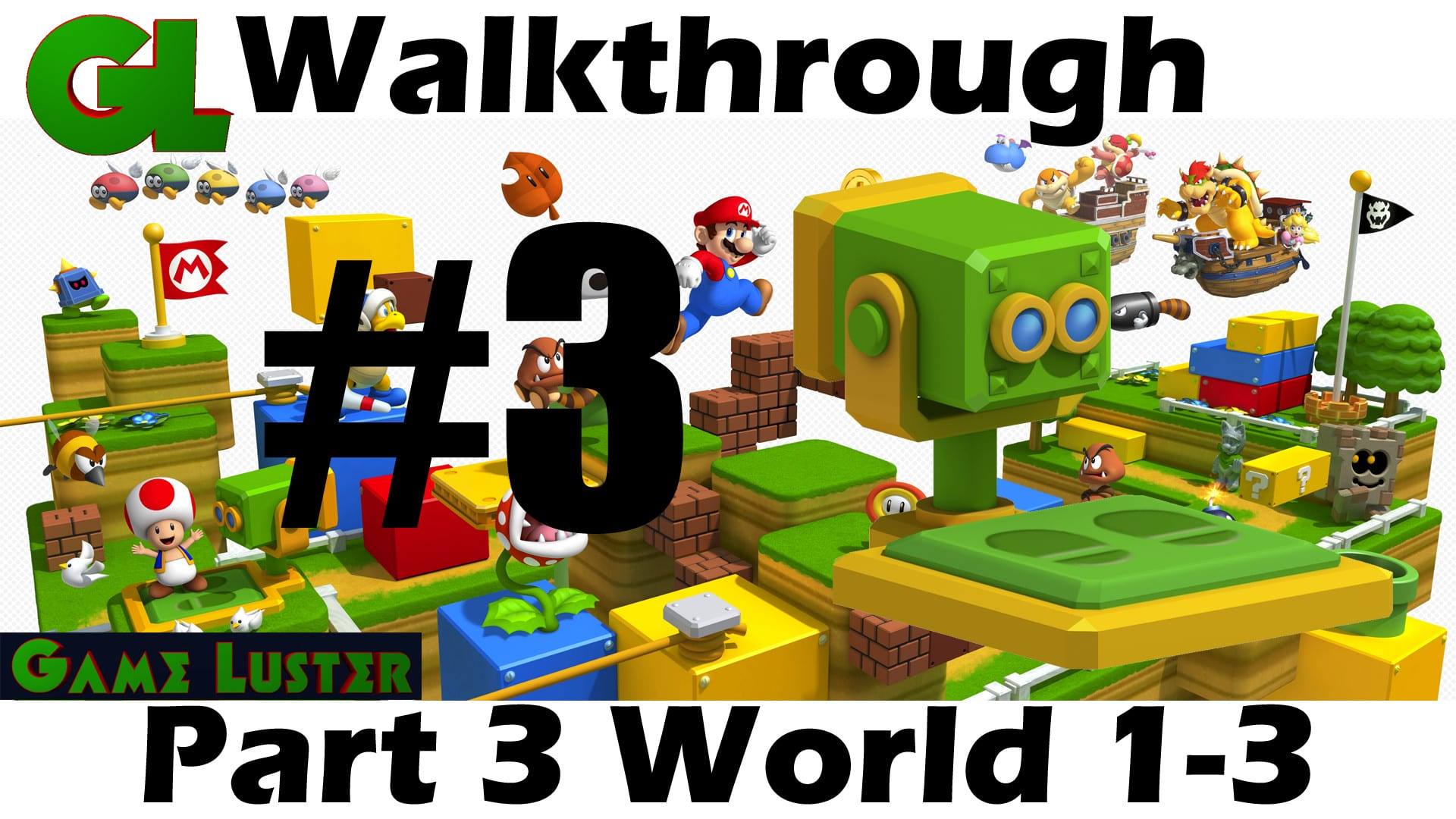 Super Mario 3d Land Walkthrough Part 3 World 1 3 Gameluster