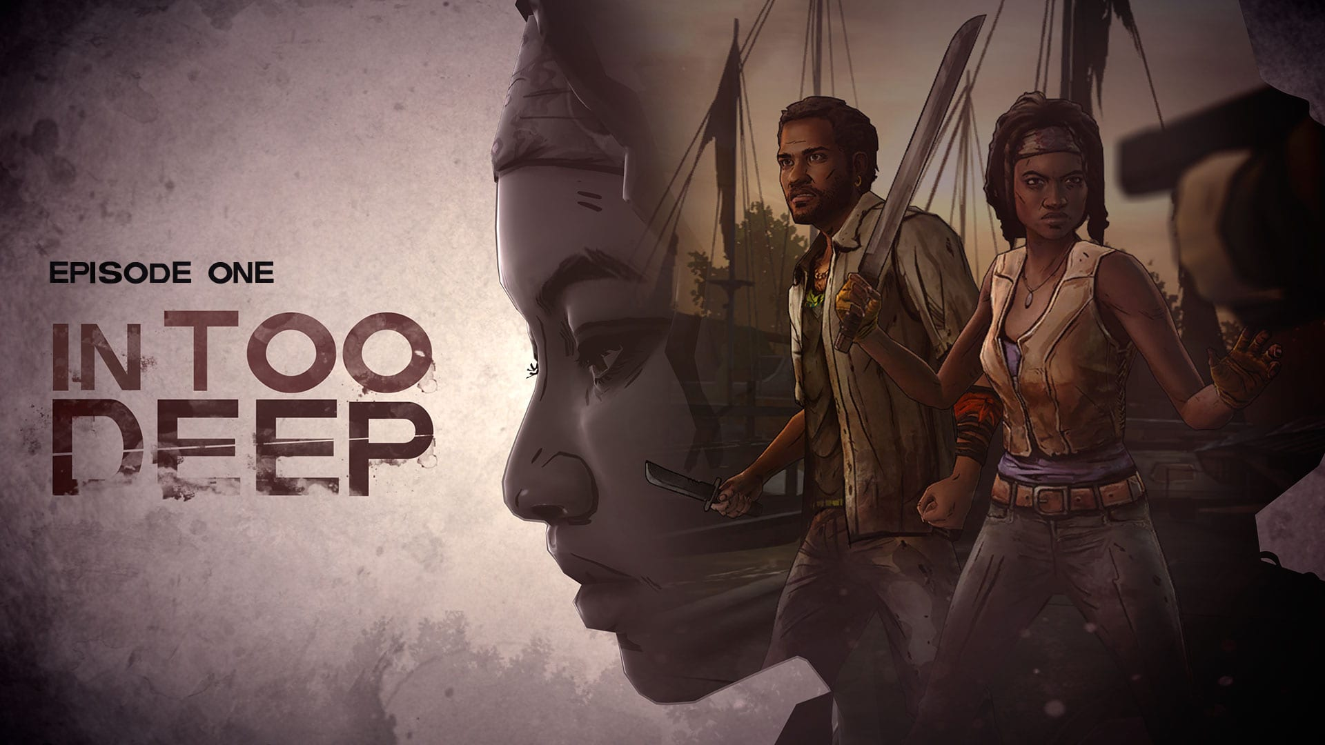 The Walking Dead Michonne Episode one In Too Deep