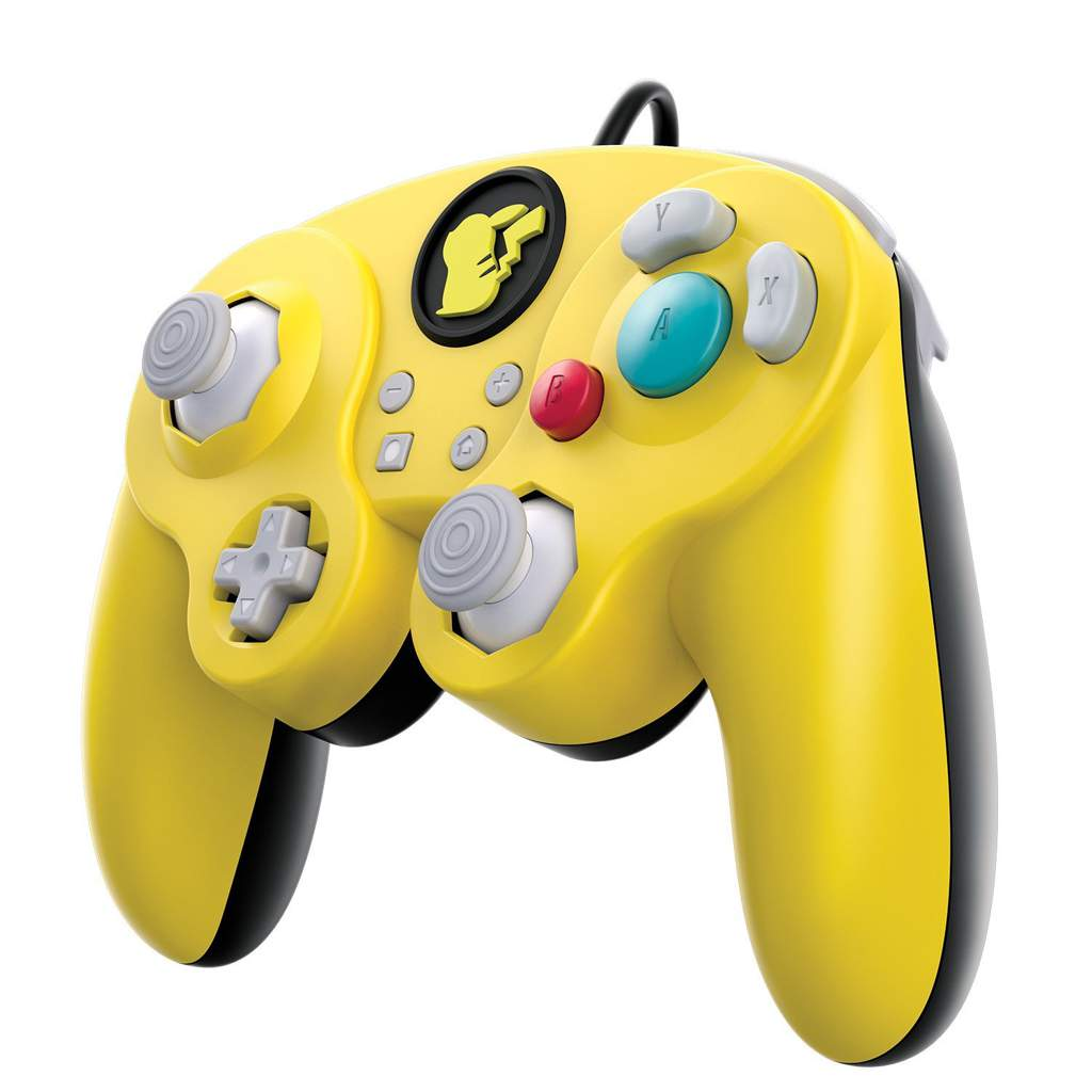 PDP Pikachu Gamecube controller for Switch