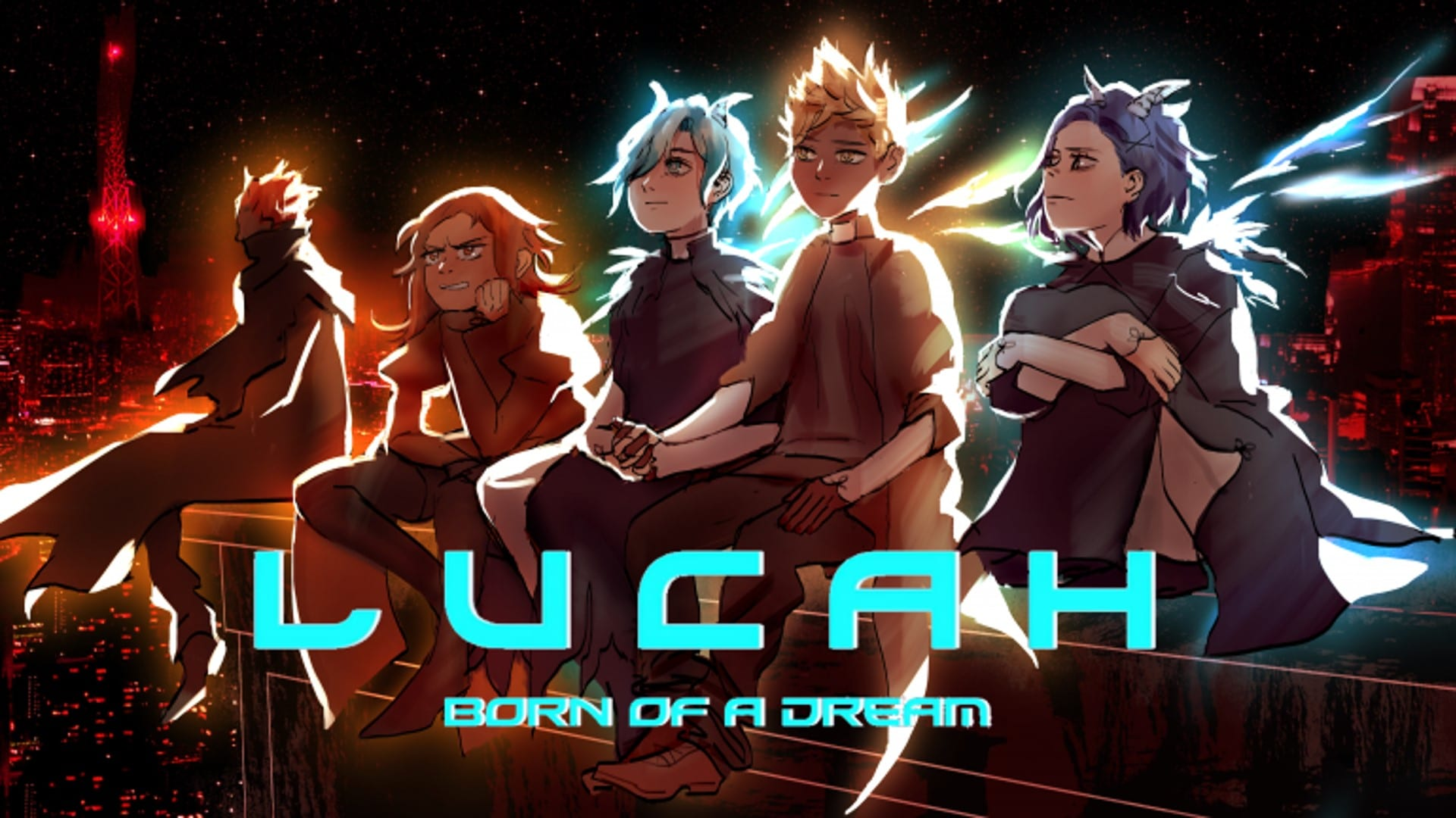 Lucah - Born of a Dream - featured image