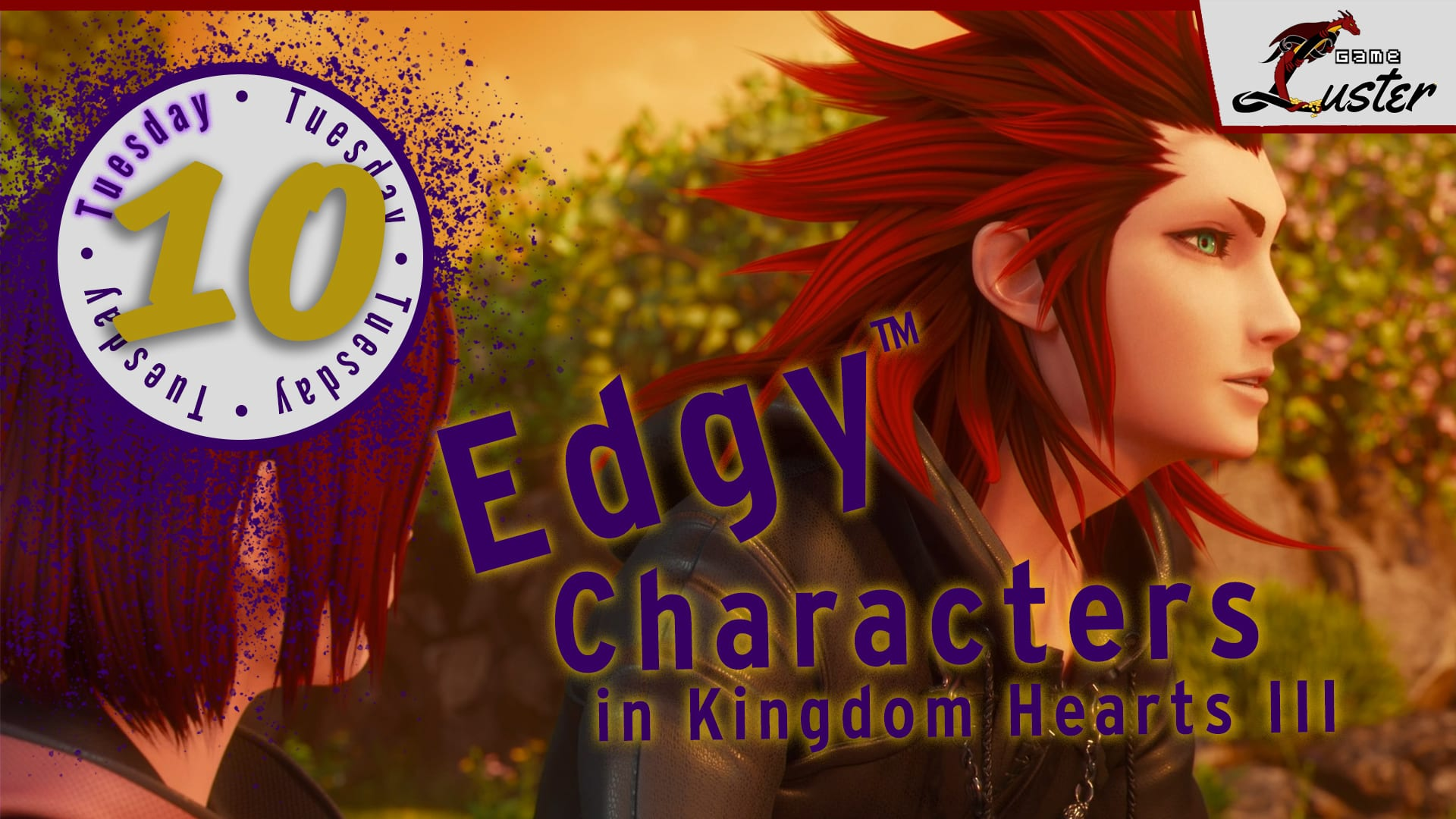 Tuesday 10 Edgy Kingdom Hearts
