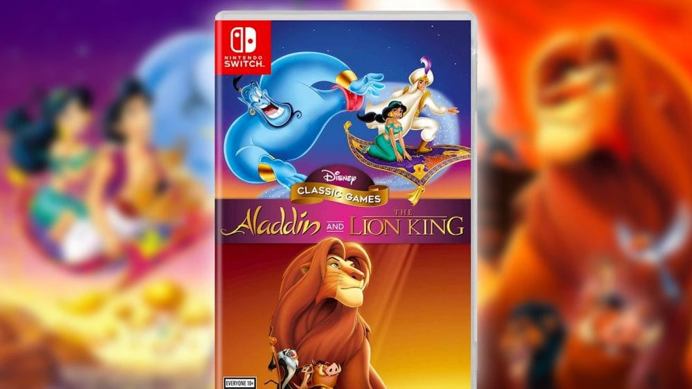Disney Classic Games Aladdin and The Lion King Switch boxart